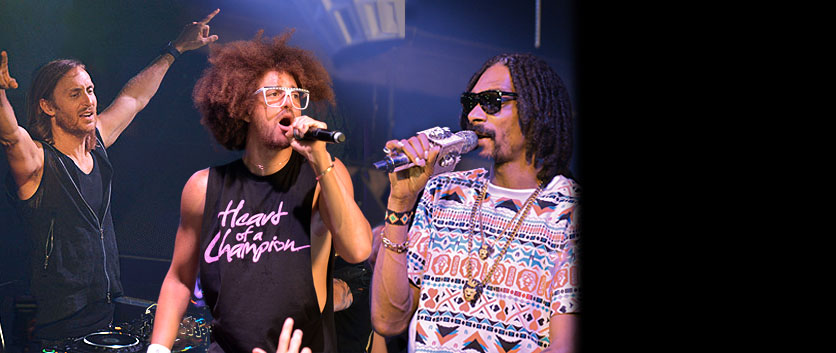 DAVID GUETTA / SNOOP DOGG / REDFOO / GOTHA CLUB 2013