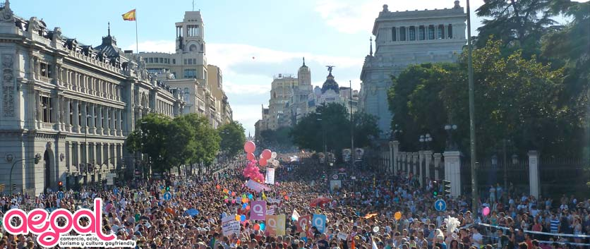 MADRID ORGULLO GAY PRIDE 2013