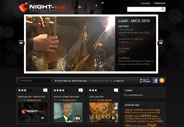 Night-mag.com – Nouveau site